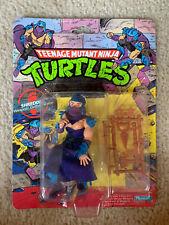TMNT 1988 Teenage Mutant Ninja Turtles Shredder Action Figure Toy MOC Sealed