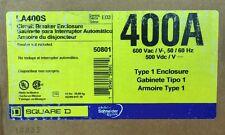 NEW Square D LA400S Circuit Breaker Enclosure 125-400A 600V Type 1 Enclosure