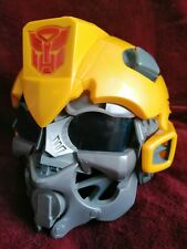 Bumblebee 2008 Full Helmet Voice Changer Sounds Transformers HASBRO *NO ANTENNAS