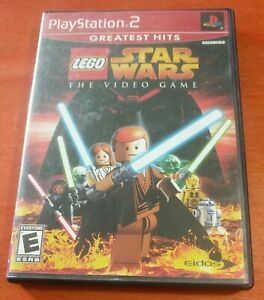 LEGO Star Wars The Video Game Sony PlayStation 2 PS2 Eidos LucasArts Tt Games