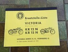 Victoria - KR 12 N - KR 15 N - Ersatzteilliste