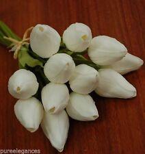 Silk Tulips Artificial Wedding Flowers, Petals & Garlands