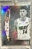 2019-20 PANINI Tyler Herro Silver Rookie RC Refractor CHRONICLES ESSENTIALS Heat