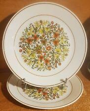 "Corning Corelle INDIAN SUMMER Dinner plate set of 2, 8 1/2"", Floral"