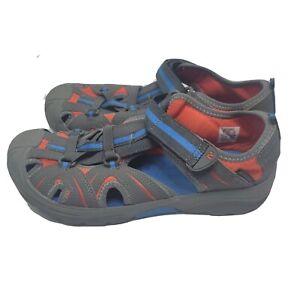 Merrell Womens Select Grip Hydro Sandals Trail Running Blue Orange Sz 7