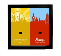 Lester and Hamleys Dual Acrylic minifigure display