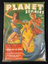 1944 FICTION HOUSE MAGAZINE *PLANET STORIES VOLUME 2 #7* PULP/SCIENCE FICTION