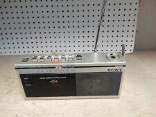 Vintage Sony Boombox CFM-15 Am/Fm Radio / Cassette Player ~ Works
