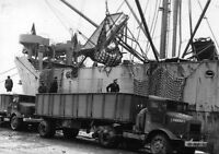 6x4 Gloss Photo ww4B5 Normandy English Channel Cherbourg 1944 110