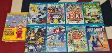 Nintendo Wii U Bundle of 9 Games Super Smash Bros Super Mario Maker Pikmin 3