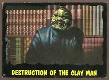 1964 topps Outer Limits# 50 Destruction of the Clayman LAST CARD