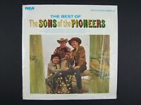 Sons Of The Pioneers - The Best Of Reissue Vinyl LP Record Album ANL1-3468(e)