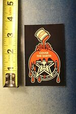 OBEY Shepard Fairey Andre The Giant Cover The Earth Paint Skateboarding STICKER