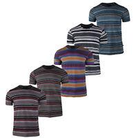 Men Cotton T-Shirt Unisex Active Baseball Crew Neck Tops Basic Tee