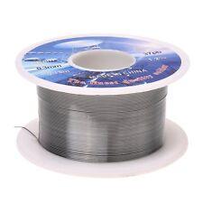 Solid Solder 0.3mm Flux Core 63% Tin 37% Lead Long Wire Reel L6N5