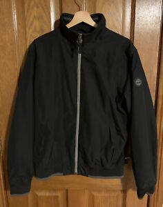 Mens Timberland waterproof jacket large Black