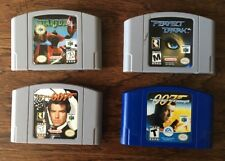 N64 NINTENDO 64 4 GAME LOT Star Fox  007 Goldeneye World Is Not Enough Perfect