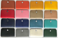 Large Lux Wallet 100% Genuine Leather Dogon Fashion Designer Clutch Togo Purse L