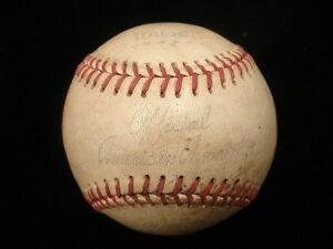 1940's Wilson American Association Game Used Baseball w/ Original Wrapper