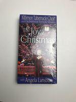 The Joy of Christmas Mormon Tabernacle Choir(VHS 2002) New Angela Lansbury