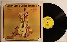 Jimmy Dean's Golden Favorites - LP vinyl record album - Hilltop