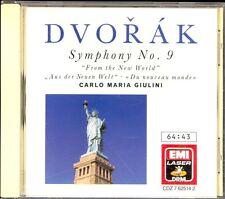 DVORAK - Symphony 9 / Carnival Overture / Scherzo - Carlo Maria GIULINI - EMI