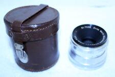 Enna Werk Munchen Super-Lithagon 35mm f/4.5 Camera Lens + Case