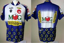 MAGLIA DIADORA MG BOYS GB TECHNOGYM VINTAGE 1995 JERSEY SHIRT CYCLO CICLISMO