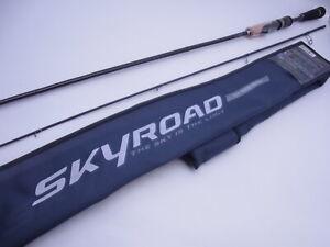Major Craft SKR-T702M Mebaru Game 2pcs Sensitive Spinning Rod Never Used