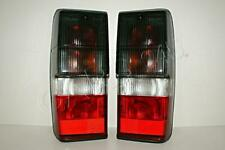 Smoke Crystal Red Tail Lights Lamps PAIR For Nissan 3DR 5DR 260 1986-1995
