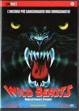 Wild Beasts. Le bestie feroci (1983) DVD