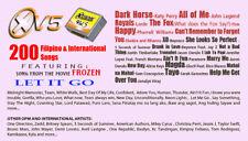 MAGIC SING TAGALOG 15/XTREME VOL.5 SONGCHIP 200 SONGS TAGALOG / ENGLISH