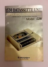 COMMODORE 1530 DATASSETTE UNIT OPERATING INSTRUCTIONS ONLY MODEL C2N