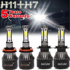 2 pc 8000K Ice Blue D4R D4S Xenon HID Replace Low Beam Socket Light Bulb F147