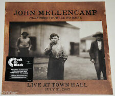 JOHN MELLENCAMP - PERFORMS TROUBLE NO MORE: LIVE AT TOWN HALL, 180G vinyl LP NEW