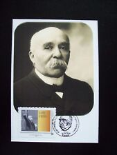 2018_CARTE MAXIMUM_FDC_GEORGES CLEMENCEAU (1841-1929). 1 TP COLLECTOR.