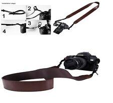 Belt Strap Camera Neck Shoulder for DSLR / SLR / Nikon / Canon PU Leather