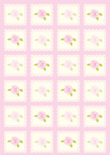 10 ASSORTED FLORAL BACKING PAPERS  FOR CARD AND SCRAPBOOK MAKING S8