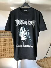 "Vintage Cradle Of Filth ""Supreme Vampyric Evil"" Praise The Whore 1996 T-shirt"