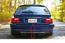 Rear License Plate Bumper number Tag Mounting Base Bracket for BMW e46 WAGON New
