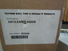 NEW GENUINE OLD STOCK TEXTRON EZ GO 503649 AIR CLEANER ASSEMBLY