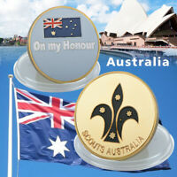 WR Australia Scouts Australia 24K Gold  Commemorative Coin Soldier's honor