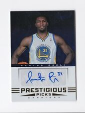2012-13 Prestige Prestigious Picks Signatures #74 Festus Ezeli Auto Warriors