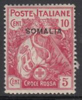 ITALY - SOMALIA Red Cross n.19 cv 100$ MNH**
