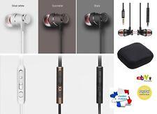 Blanc - Fonken Ecouteurs Magnétiques - Universel Stéréo Samsung Iphone Apple