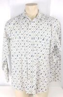 Mens Wrangler Shirt Long Sleeve Button Front Pearl Snaps Western Sz Large L