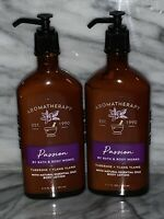 2x Bath & Body Works Aromatherapy Passion Tuberose Ylang Ylang Body Lotion NEW
