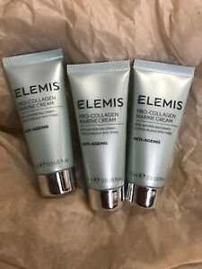 3 X ELEMIS  Pro-Collagen Marine Day Cream Anti-Aging 1.5 Oz = Full Size Sealed