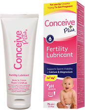 Conceive Plus Fertility Lubricant + Magnesium and Calcium, Lube for Couples to