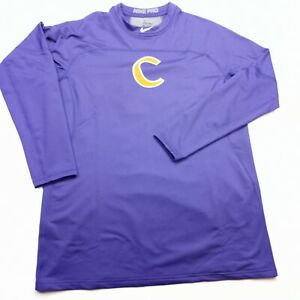 Clemson Tigers Nike Pro compressio Baseball  Pullover  Shirt Sz XL without tags
